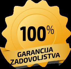 100% garancija na zadovoljstvo