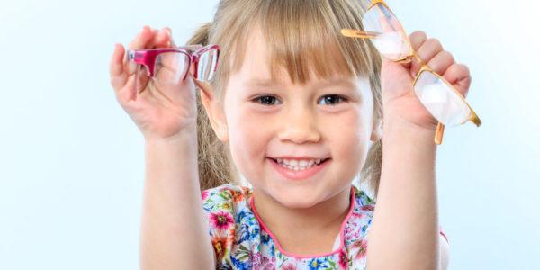 Rezervna otroška očala