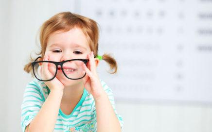Stekla za otroška očala