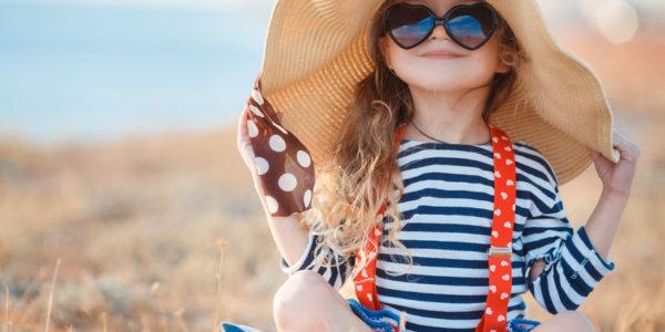 Stekla za otroška sončna očala